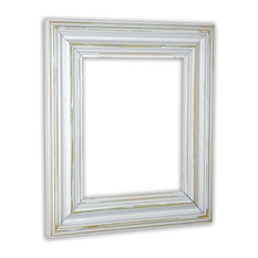 the rusty roof wide distressed white picture frame solid wood 16x20 picture
