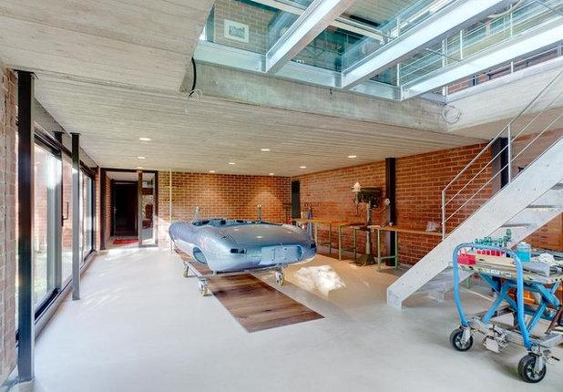 Modern Gartenhaus by enck-oswald architekten