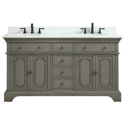 Traditional Bathroom Vanities And Sink Consoles by Azzuri Bath Furniture