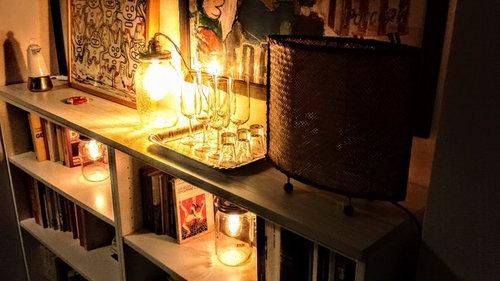 Lampada Con Barattolo Di Vetro : Lampade vintage con i barattoli di vetro