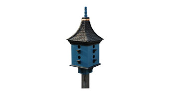 Handcrafted Birdhouse Wooden Home and Garden