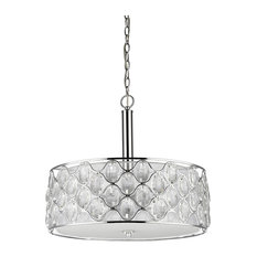 Acclaim Lighting IN11086 Isabella Chandelier, Polished Nickel