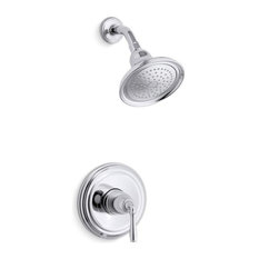 Kohler K-TS396-4 Devonshire Rite-Temp Pressure-Balancing Shower Faucet Trim wit