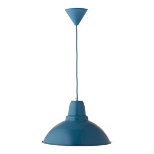 Large City Pendant Lamp, Blue