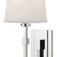 Fletcher 1-Light, Wall Sconce, Polished Nickel