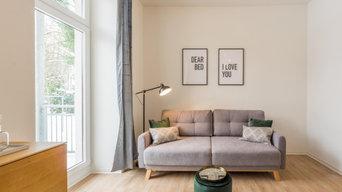 Immobilienfotografie in Chemnitz- frisch renovierte und eingerichtete Wohnung