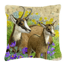 Chamois By Sarah Adams Canvas Decorative Pillow