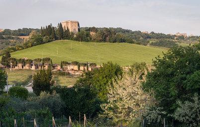 Le Case di Houzz: Vivere in una Torre Medievale in Umbria