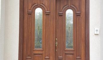Refinish Mahogany Doors