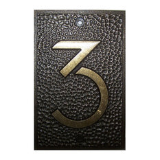Ytc Frank Lloyd Wright Collection House Numbers Bronze Finish 3