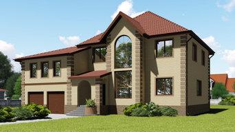 Проект дома в классическом стиле К-139-2