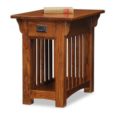 leick home traditional chairside table side tables and end tables