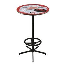Carolina Hurricanes Pub Table 36-inch by Holland Bar Stool Company