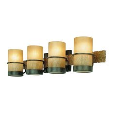 Troy Lighting Bamboo Four Light Bath B1844BB