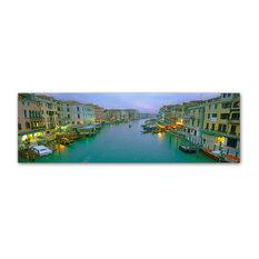'Venice at Dusk' Canvas Art by John Xiong