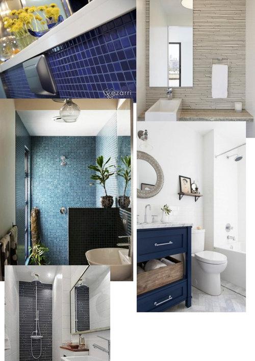 une mosa que ou autres pour une tr s tr s petite salle d 39 eau. Black Bedroom Furniture Sets. Home Design Ideas