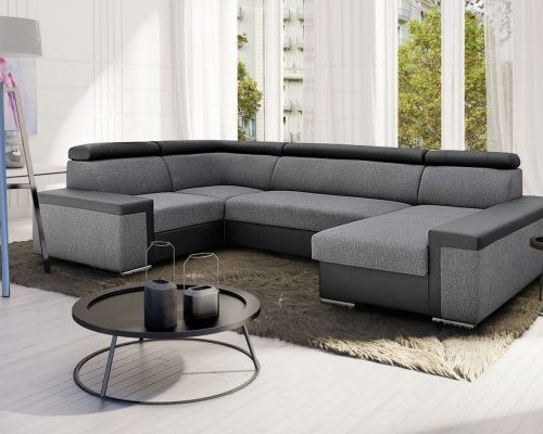 European Sectional Sleeper Sofa TIMON