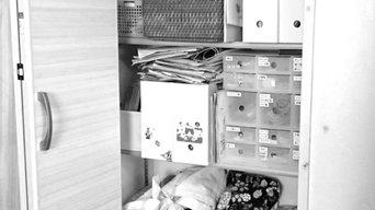リビング収納庫の整理収納事例