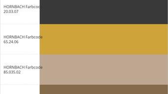 La mia palette di colori Hornbach®