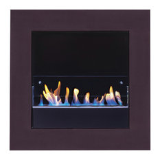Fuecopared Top Fireplace, Undecorated