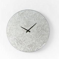 Mirrored Round Clock   Clocks