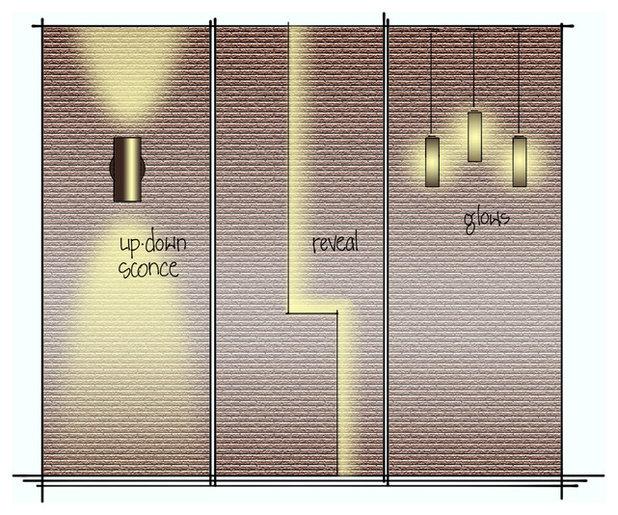Contemporary Family Room by David K Warfel at LightCanHelpYou.com