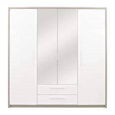 Faro 4-Door Wardrobe