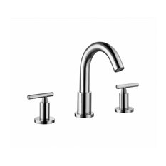 Dawn 3 Hole 2 Handle Faucet Pull Up Drain With Lift