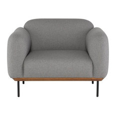 Alix Light Gray Occasional Chair