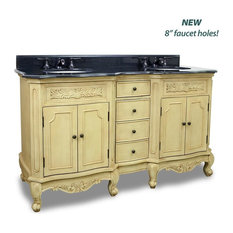 Elements Clairemont Vanity with Preassembled Top and Bowl in Painted Nutmeg