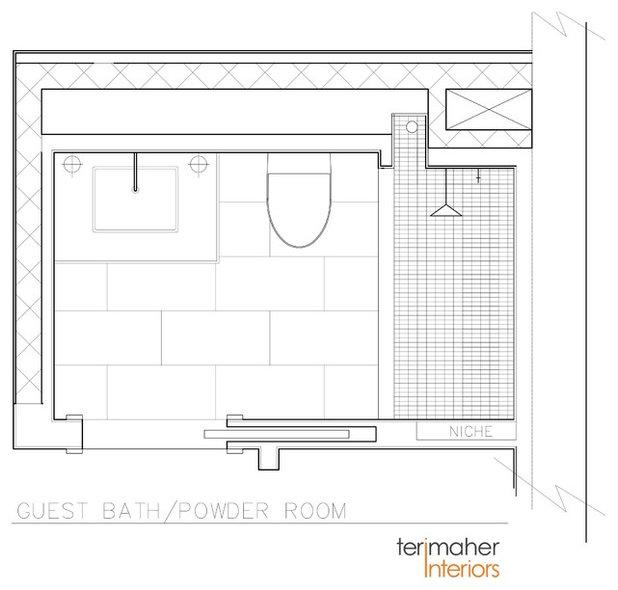 Floor Plan by teri maher interiors