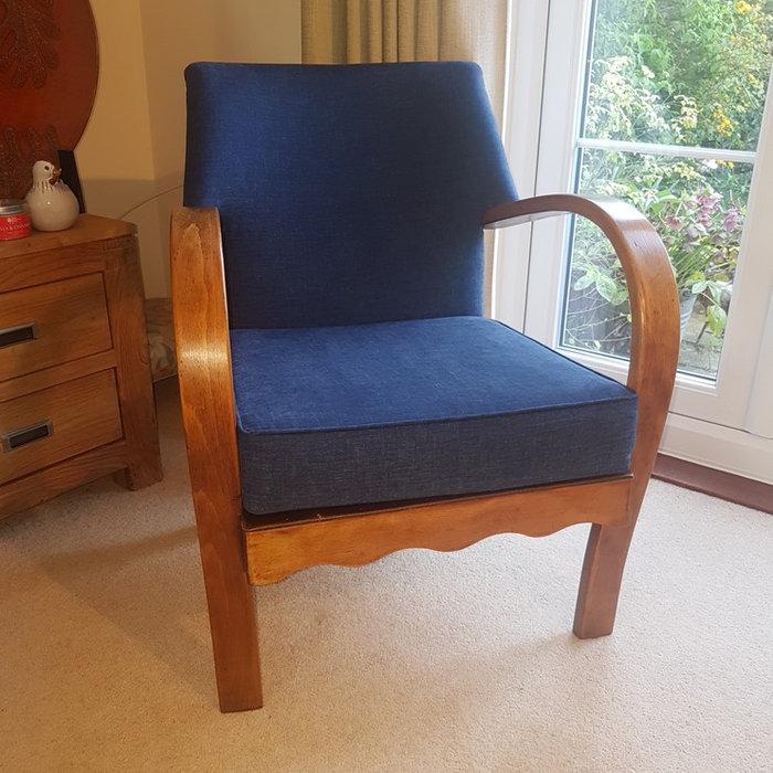 Commission Bent wood armchair