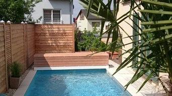 Poolbau ohne Platz