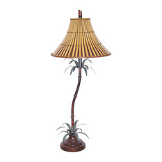 Tropical Bamboo Table Lamp
