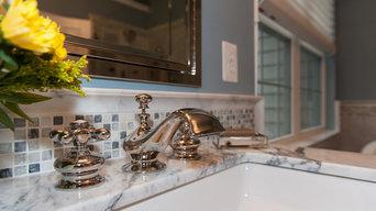 Ashburn Marble Master Bathroom Retreat