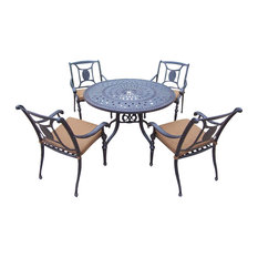 5-Pc Round Dining Set