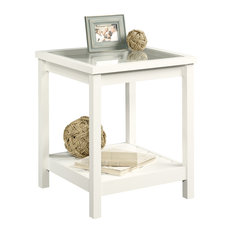 Sauder   Cottage Road Side Table, Soft White   Side Tables And End Tables