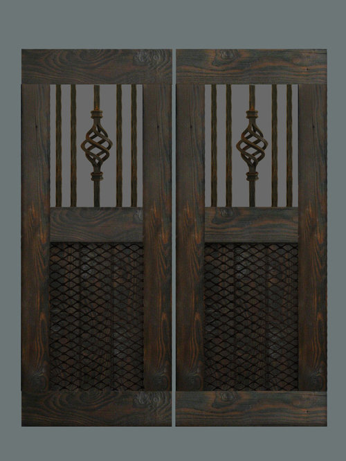 Custom Swinging Saloon Doors   Interior Doors