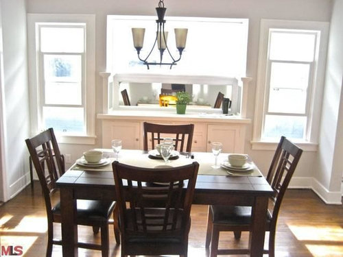 Any Ideas On How I Should Design My Dining Room Area Windows
