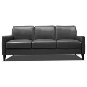 Pierce Sofa Charcoal Transitional Sofas By Z Gallerie