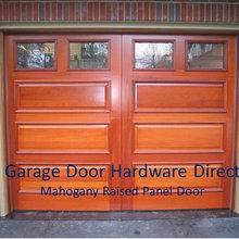 Custom Built Wood Garage Doors By GDHD