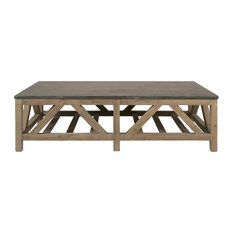Orient Express Furniture - Blue Stone Coffee Table - Coffee Tables