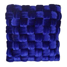 Pj Velvet Pillow, Royal Blue