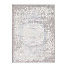Unique Loom Light Blue Olwen New Classical 9' 0 x 12' 0 Area Rug