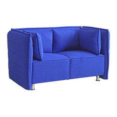 Sofata Loveseat Blue