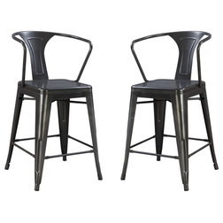 Industrial Bar Stools And Counter Stools by Emerald Home