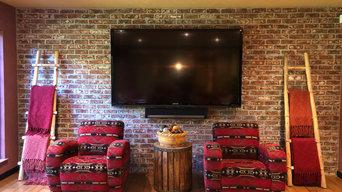 TV and Sonos Playbar