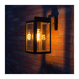 Outdoor Wall Lamp Sutton Down Graphite