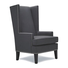 ARTEFAC - Stylish Wingback Accent Chair - Armchairs and Accent Chairs