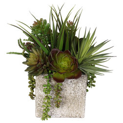 Contemporary Artificial Plants And Trees by JENNY SILKS